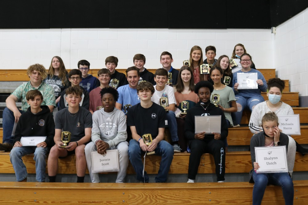 2019-2020 7th Grade Awards Day