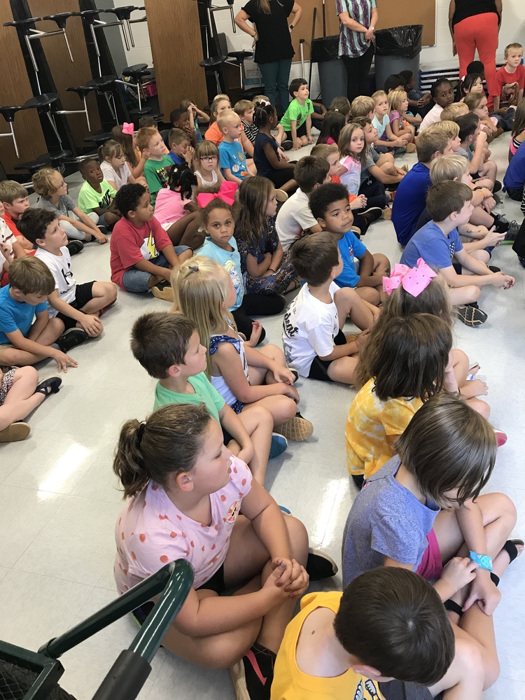 First Grade Learns About Community Helpers