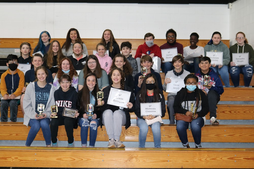2019-2020 6th Grade Awards Day