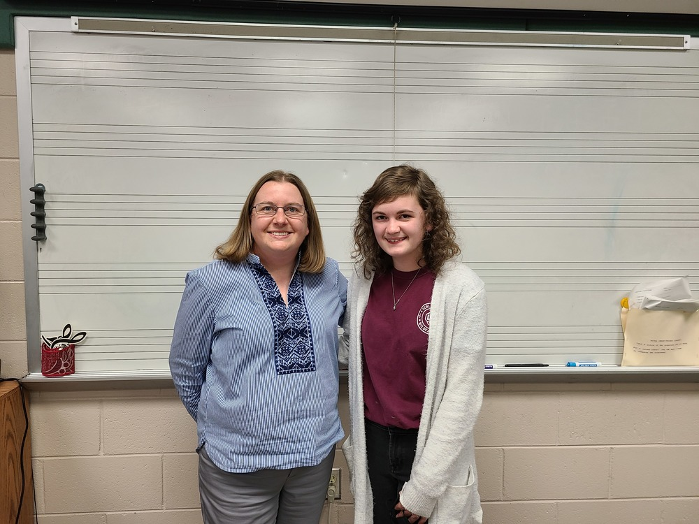 Gabrielle Register-All State Band
