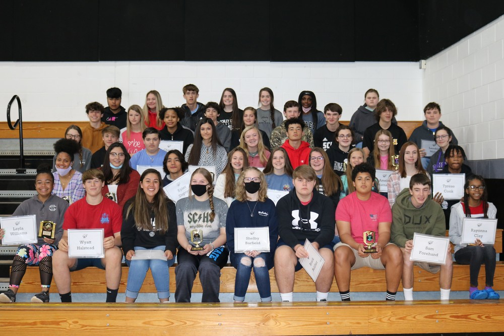 2019-2020 8th Grade Awards Day