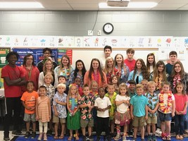 Business Classes visit Kindergarten