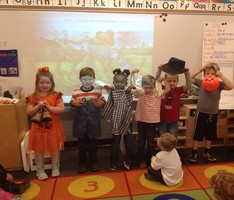 PreK Students Celebrate Fall