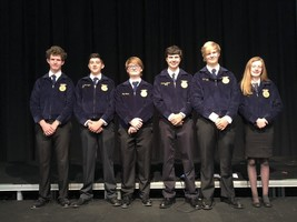 Local FFA Officers attend Training Conference