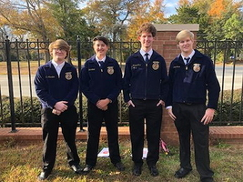FFA Members Compete in Multiple Competitions