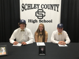 Athletes Signing