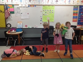 PreK Students Learn About Nocturnal Animals