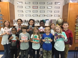 3rd Grade Students Create Haunted House Writings