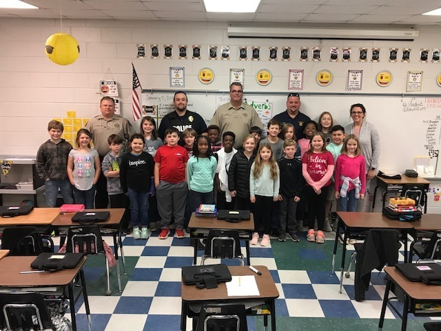 Officers with third grade.