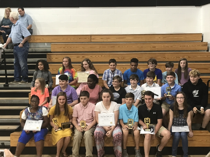 Congratulations to our academic award recipients!