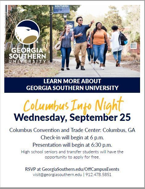GA Southern Information Night