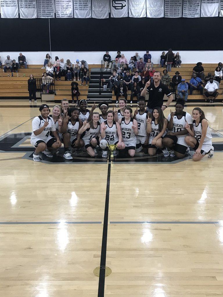 2019-2020 Girls BB Region Champions.